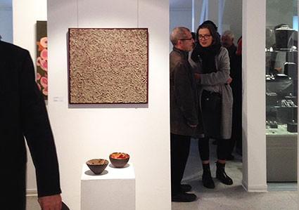 Akzente 15, 30 Künstlerinnen verschiedenster Genres stellen aus, in der Neuen Galerie in der Bücherstadt Wünsdorf, vom 27.10. bis 16.12.2018, Do-So von 10-17 Uhr, ich selbst bin hierher eingeladen mit meinen Materialbildern.