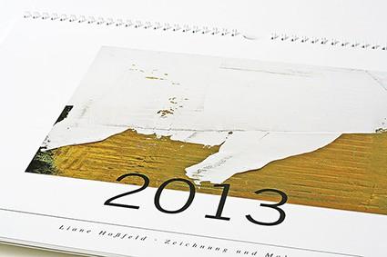 der kalender 2013. <br/>mit zwölf arbeiten aus den letzten beiden jahren <br/>digitaldruck auf 250g/qm bilderdruckpapier matt<br/><br/>